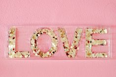 love is pretty and prettier in glitter Pretty In Pink, Pink Love, Pink And Gold, Pale Pink, Pink Purple, Hot Pink, All You Need Is Love, My Love, My Favorite Color