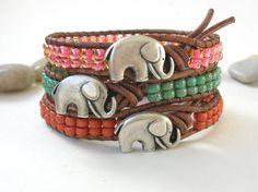 Elephant bracelet!