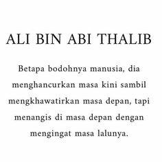 "Yayasan Dakwah Islam di Instagram ""Hidup kita cuma 1 hari, yaitu hari ini. Besok belum tentu ada, yanf kemarin juga sudah lewat. Jangan sia-siakan dengan hal-hal yang tidak…"" Muslim Words, Ali Bin Abi Thalib, Qoutes, Life Quotes, Self Reminder, Islamic World, Islamic Quotes, Quran, My Life"