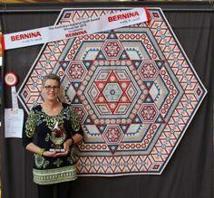The HEXIE Blog: Hexie Quilt Wins HUGE Award!