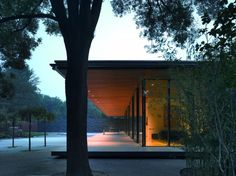 "styletaboo: ""Kraaijvanger Architects - Dutch Ambassador's Residence [Beijing] "" Modern Exterior, Exterior Design, Residential Architecture, Interior Architecture, Contemporary Architecture, Future House, My House, Appartement Design, Glass House"