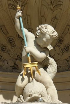 Gaillon Fountain, Place de l'Opéra, Paris II