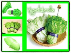 Vegetabrella - ombrello tascabile - idea regalo - novità