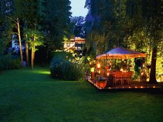 Es Werde Licht Im Garten! So Kann Man Laue Sommerabende Lange Genießen.  Praktisch Und