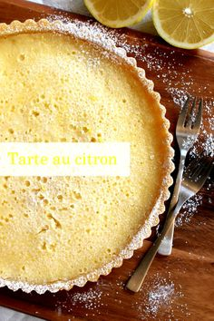 Tarte au citron by Wicked sweet kitchen
