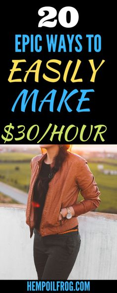 20 Epic ways to easily make $30/hour; Easy Ways to Make Money Online and Work from Home. Here are the fastest and easiest ways to make money online while working from home. Make Money Fast, Make Money From Home, Make Money Online, Working For Amazon, Working Mom Tips, Money Tips, Extra Money, Business Ideas, Affiliate Marketing
