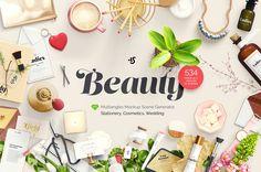 """다음 @Behance 프로젝트 확인: """"Beauty: Stationery, Cosmetics, Wedding, mockups"""" https://www.behance.net/gallery/41011895/Beauty-Stationery-Cosmetics-Wedding-mockups"""