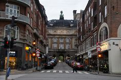 Copenhagen. The old theater at Vesterbro which is actually called 'The new theater.