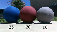 DIY Medicine Balls Created by KB Fitness