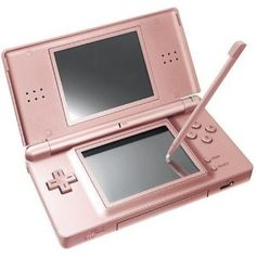 Nintendo DS Lite dusty rose pink ❤ I had this one