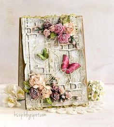 Be4autiful Card, so much detail and the Butterflies make the card complete,