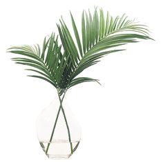 Palm Leaves Odd Glass Bubble - NDI - $310.00 - domino.com