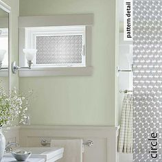 Peel & Stick Window Film instead of hanging curtain hardware or those ugly, cheap blinds.