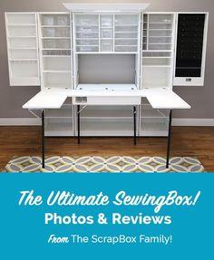 Customer Photos and Reviews of the Ultimate SewingBox – The Original ScrapBox