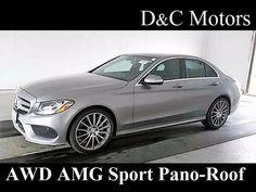2015 *Mercedes-Benz* *C-Class* *C300 4MATIC AMG Sport Pkg NAV Pano-Roof* Sedan