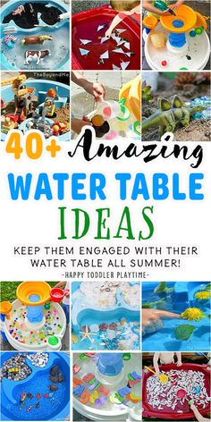 Toddler Learning Activities, Summer Activities For Kids, Infant Activities, Craft Activities, Kids Learning, Parenting Toddlers, Water Activities, Learning Games, Outdoor Toddler Activities