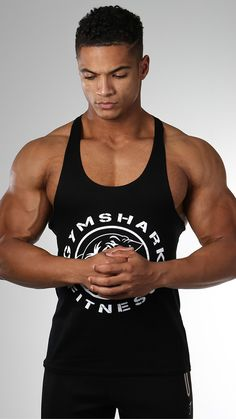 e4a5a936f4eb4 Fitness stringers in black launching 20th January. Gymshark Discount Codes  here - http