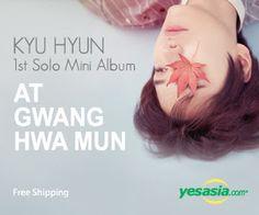 #SuperJunior : #KyuHyun Mini Album Vol. 1 - At #Gwanghwamun #kpop, #suju --click on the pic to order now!