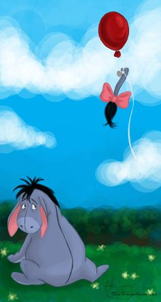 *EEYORE...There it goes again by ~Tella-in-SA on deviantART