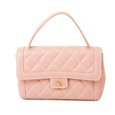 #Chanel pink leather Classic #KellyBag in #WildStitch. Available at lxrco.com for $1799