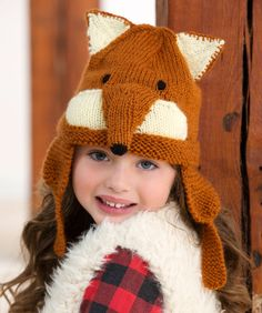 A fox hat is the perfect accessory with every outfit! Knit this fun hat for your favourite child.