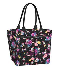 Minnie Mous Floral LeSportsac #MinnieStyle