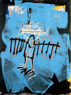 Art by Jean-Michel Basquiat Jean Basquiat, Jean Michel Basquiat Art, Maya Angelou, Image Bleu, Basquiat Paintings, Banksy, Radiant Child, Graffiti Kunst, Art Brut
