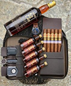Husband Fathers Day Gifts, Fathers Day Gift Basket, Gifts For New Dads, Gifts For Father, Good Cigars, Cigars And Whiskey, Pipes And Cigars, Cigar Cases, Cigar Accessories