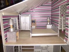Bedroom dolls house project