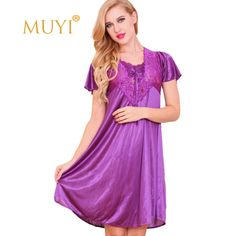 Women Nightwear Sleepwear Sexy Night Dresses Plus Size Nuisette Femme Sexy Dressing Gown Nightgown Ladies Babydoll Dress Nighty