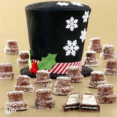 Marshmallows and oreos!