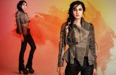 Warbird women's jacket designed by Michelle Überreste. http://www.michelleuberreste.com