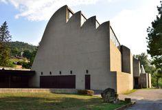 La Chiesa di ALVAR AALTO a Riola di Vergato
