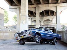 64 Chevy Impala...three wheel motion...