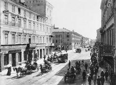 Warsaw in the year 1900, photographed by Stanisław Kazimierz Kossakowski