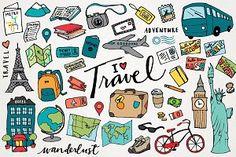 Travel & Wanderlust Illustrations