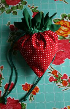 Strawberry Bag tutprial
