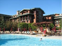 Disney's Grand Californian Hotel.  We loved it here, and definitely would stay here again.