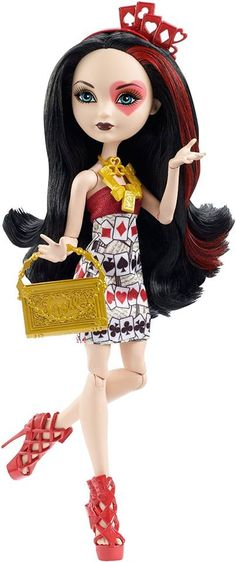 Ever After High Book Party Lizzie Hearts Doll by Mattel Ever After High, Barbie 80s, Lizzie Hearts, Queen Of Hearts, Ever After Dolls, New Dolls, Monster High Dolls, Julia, Fashion Dolls