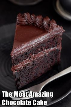 The Most Amazing Chocolate Cake - Funnify Recipes