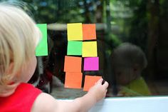 Welcome to Active Babies - Activities for Babies, Toddlers, and Children: Window Blocks - Window Clings