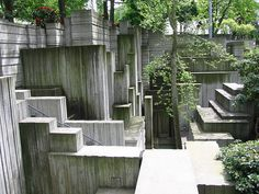 Lawrence Halprin's Freeway Park in Seattle (photograph by Cody Allison/Flickr user)
