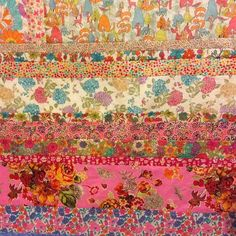 Liberty Colourwash Strip Quilt
