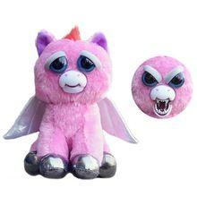 Pets Stuffed Toy Original Plush Stuffed Feisty Pets Unicorn Dog