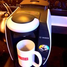 My first run with my new Tassimo T45 - espresso time!