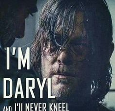 Good for you, Daryl. Stay true to yourself! Don't break!
