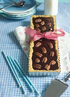 Sweet Food O'Mine: Suklaa-pekaanipiirakka , resepti – Ruoka.fi