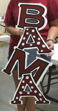Fabulous Alabama Door Hanger by PaintingBoutiquellc on Etsy Alabama Room, Alabama Decor, Alabama Crafts, Alabama Door Hanger, Football Door Hangers, Crimson Tide Football, Alabama Crimson Tide, Alabama Football Wreath, Roll Tide Alabama