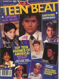 Teen Beat magazine.