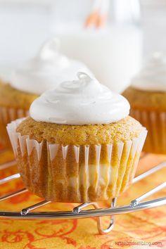 Pumpkin Cheesecake Cupcakes